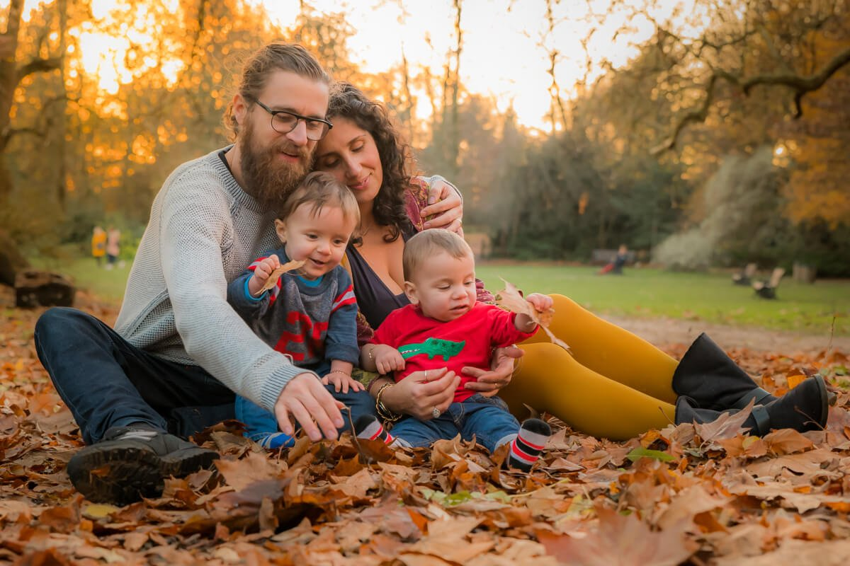 Autumn Family Photoshoot Holland Park London with Robert Nelson Family Photographer