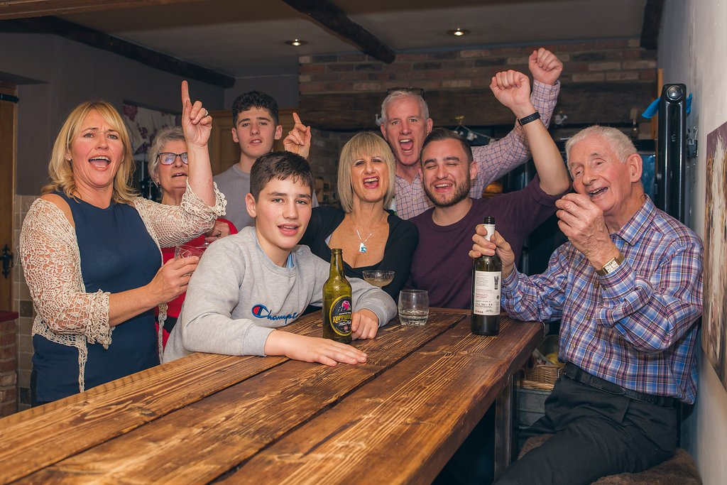 60th celebrations with Robert Nelson Family Photography